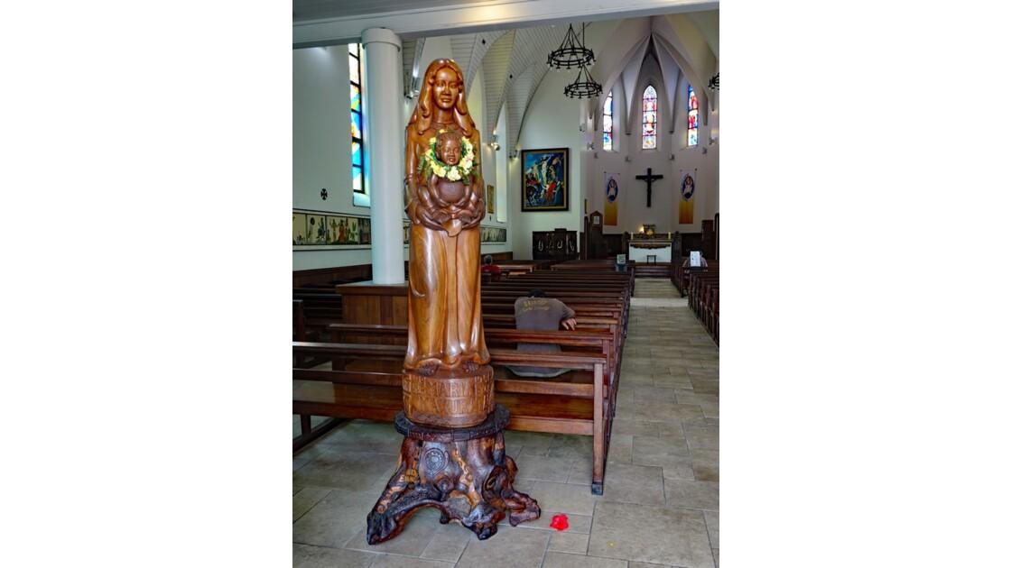 Tahiti Papeete Cathédrale de l'immaculée conception 6