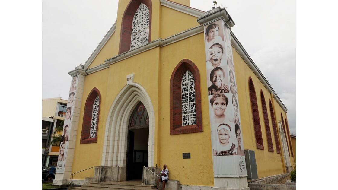 Tahiti Papeete Cathédrale de l'immaculée conception 7