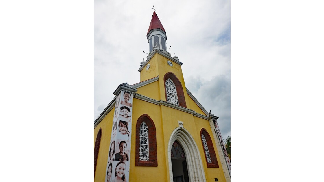 Tahiti Papeete Cathédrale de l'immaculée conception 8