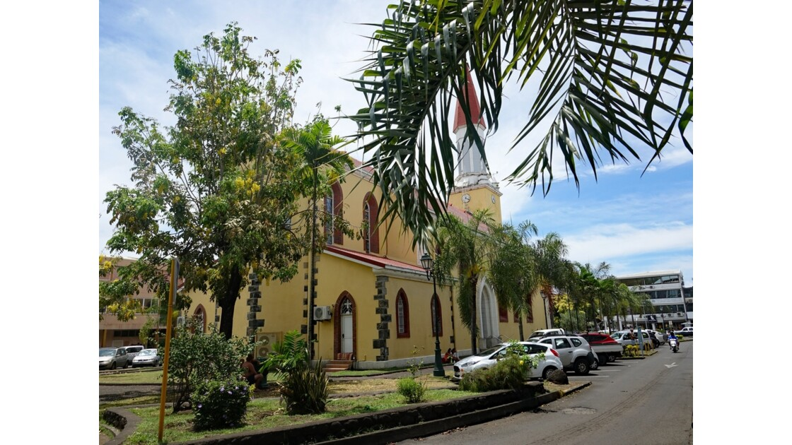 Tahiti Papeete Cathédrale de l'immaculée conception 11