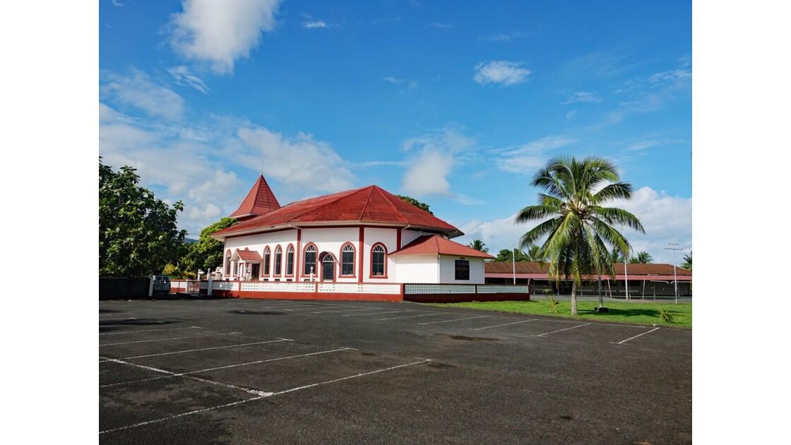 Tahiti Nui L'église du Tombeau du roi Pomaré V - 1