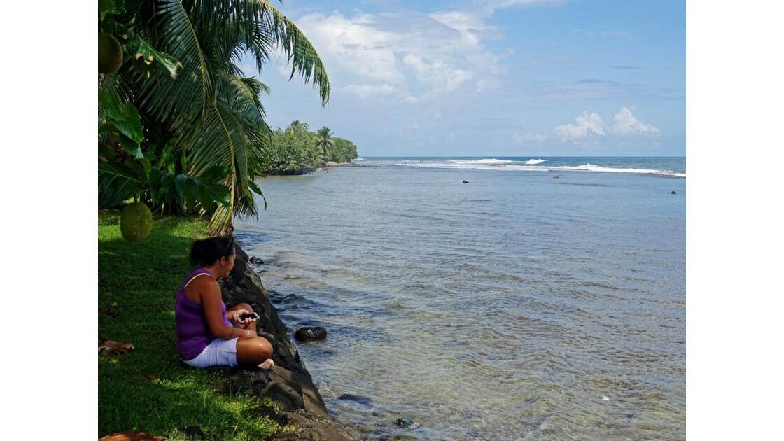 Tahiti Nui plage de Tiarei