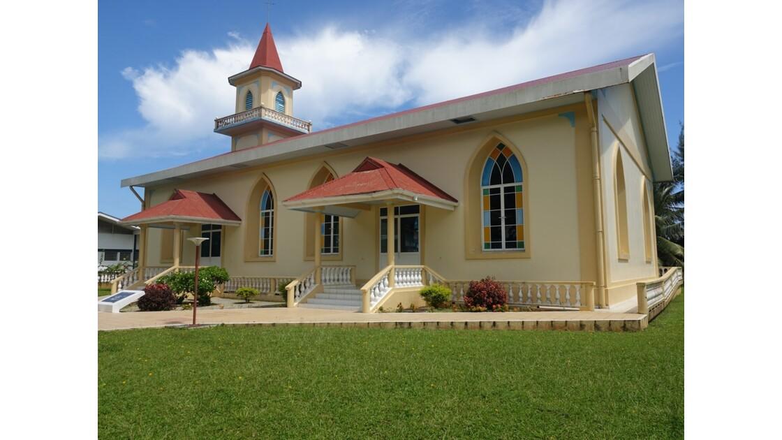 Tahiti Nui Temple protestant de Tiarei 1