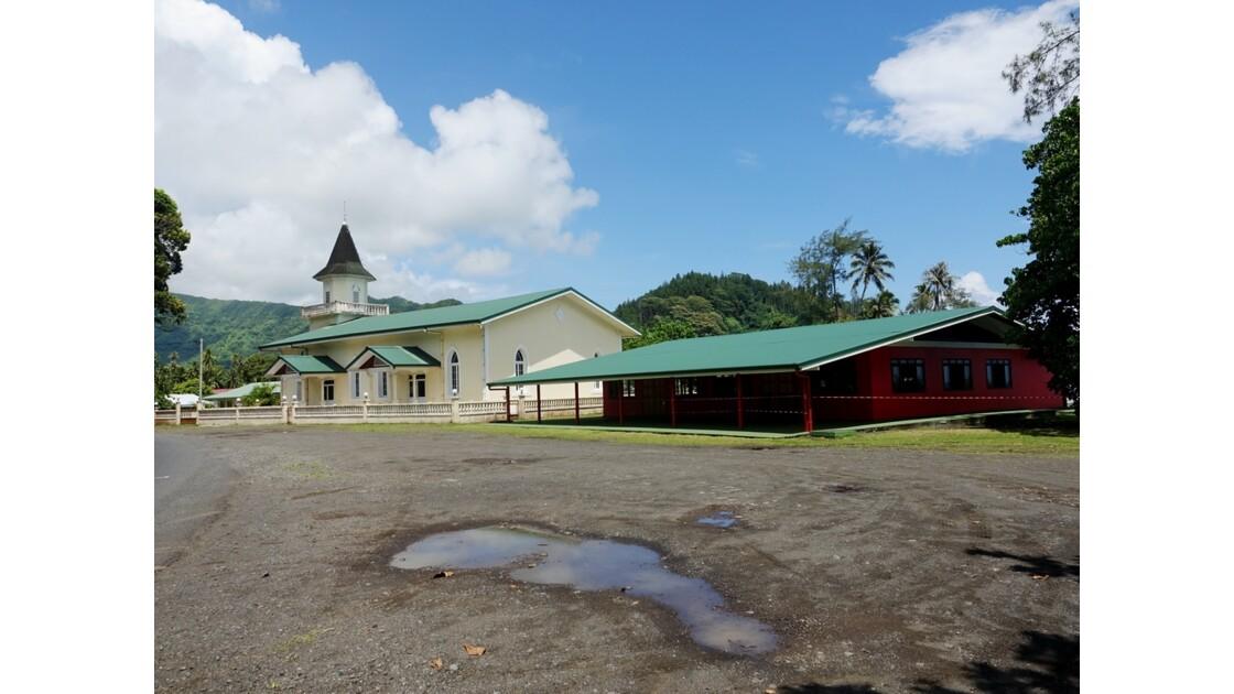 Tahiti Nui Temple protestant de Mahaena 1
