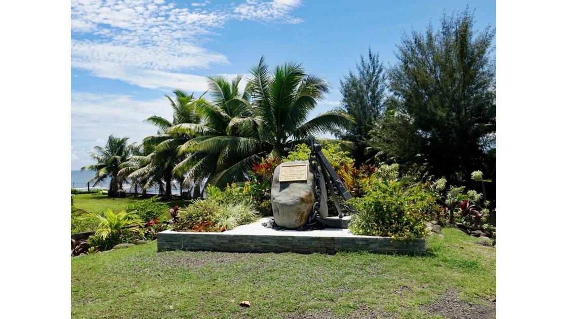 Tahiti Nui Hitiaa Stèle Bougainville 1
