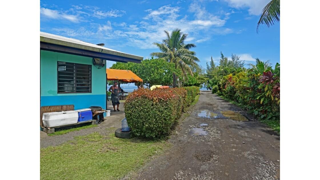 Tahiti Iti Snack de Tautira