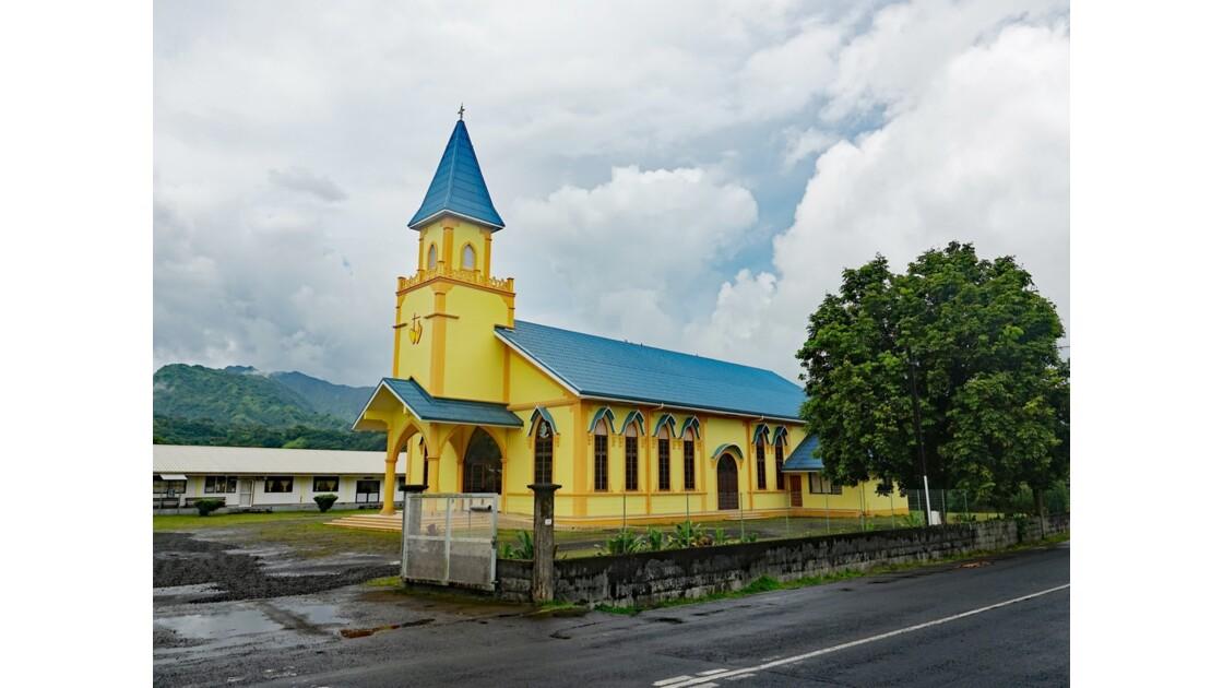 Tahiti Nui Eglise Sainte-Elisabeth de Papeari 2