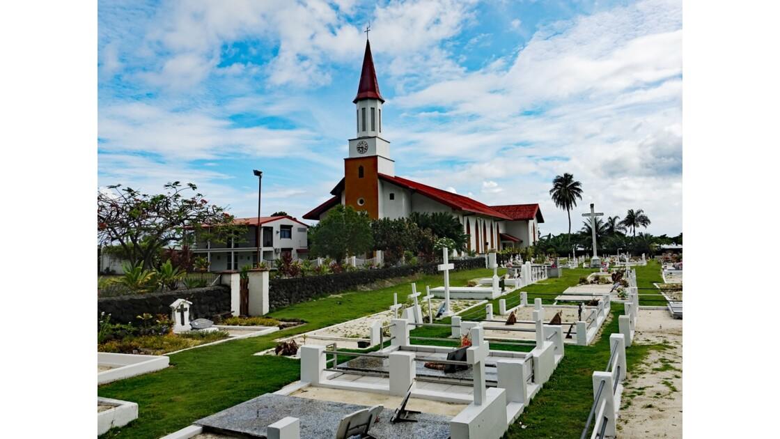Tahiti Nui Eglise Saint-Michel de Papara 1