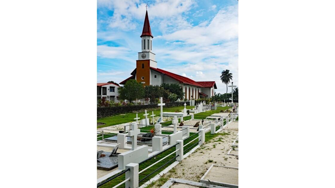 Tahiti Nui Eglise Saint-Michel de Papara 2