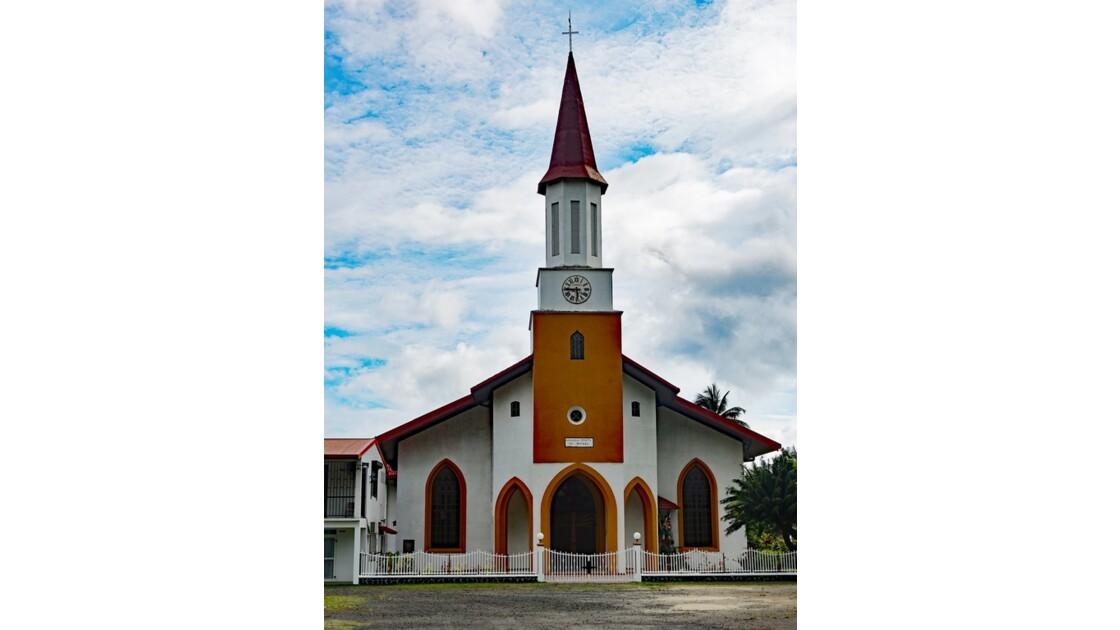 Tahiti Nui Eglise Saint-Michel de Papara 3