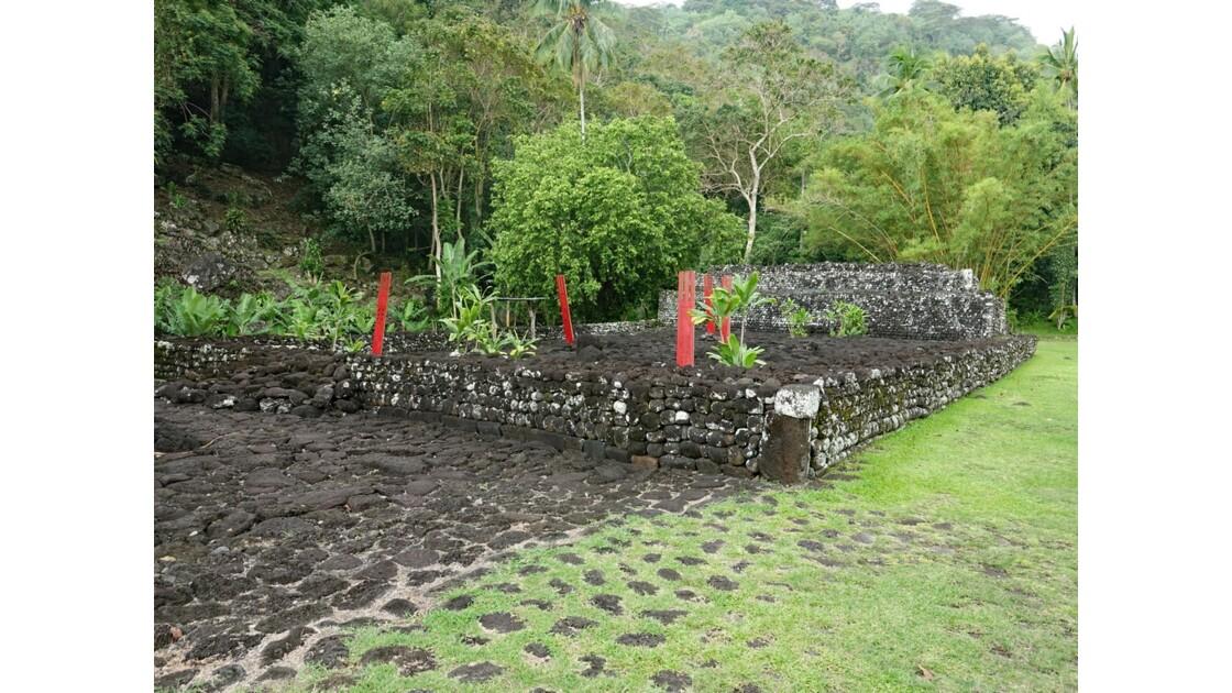 Tahiti Nui Papara Temple du marae Arahurahu 1