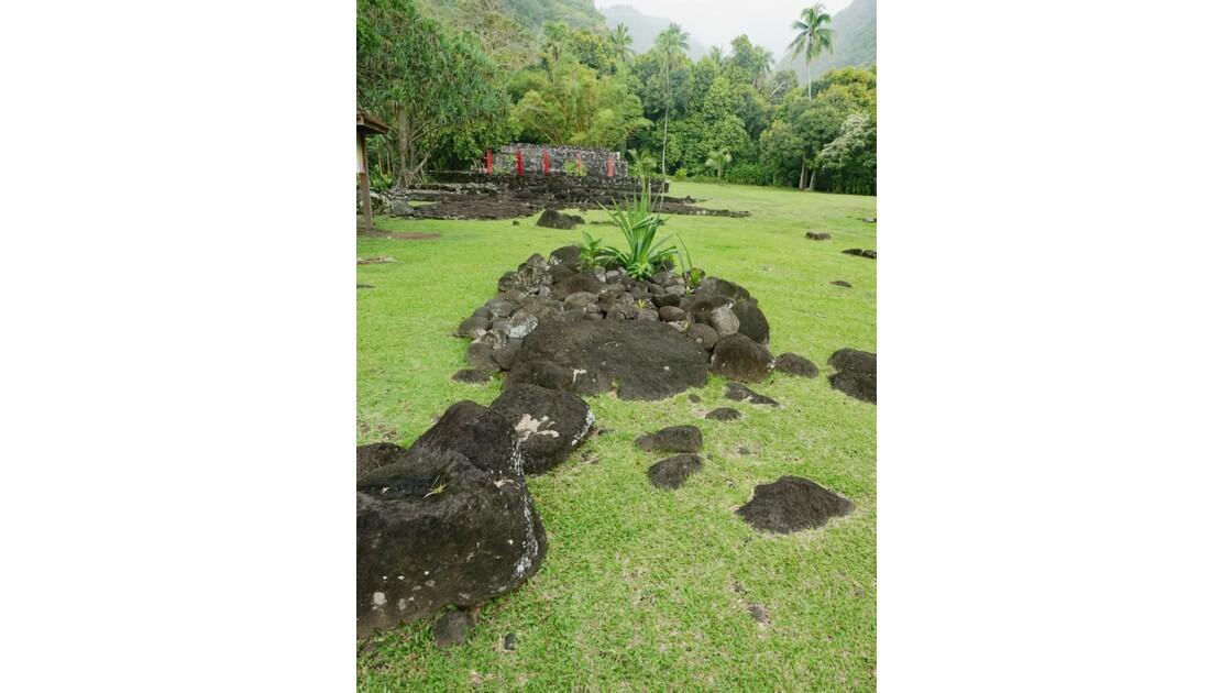 Tahiti Nui Papara Temple du marae Arahurahu 4