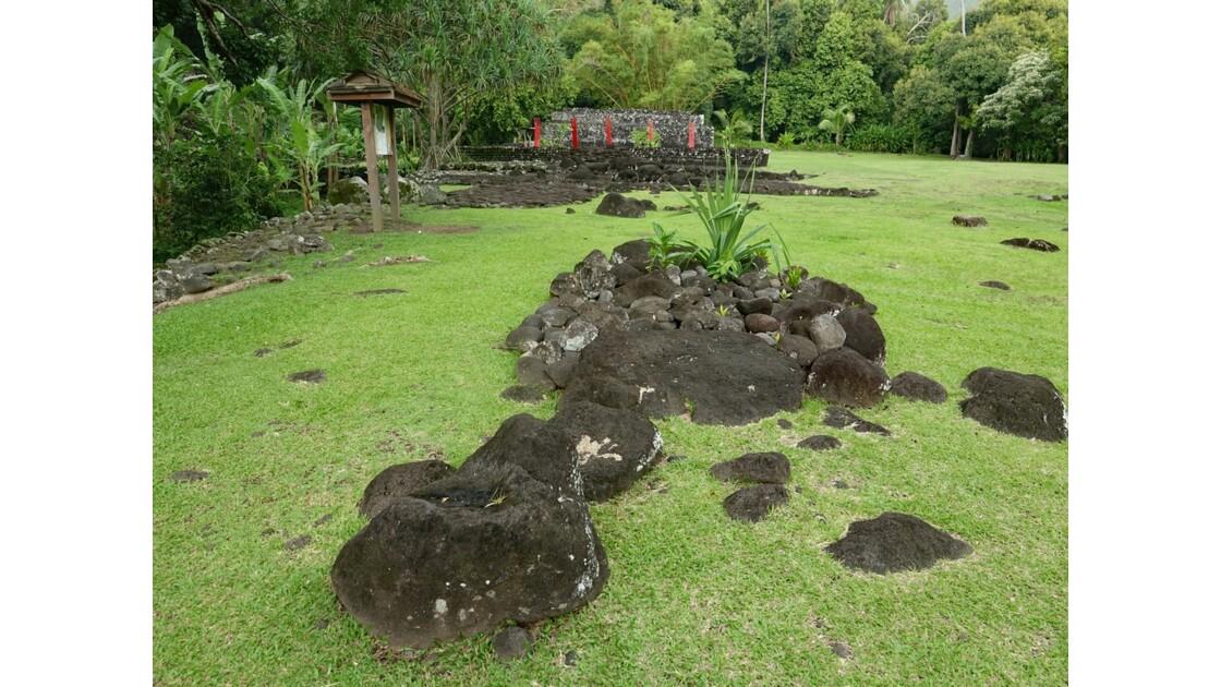 Tahiti Nui Papara Temple du marae Arahurahu 3