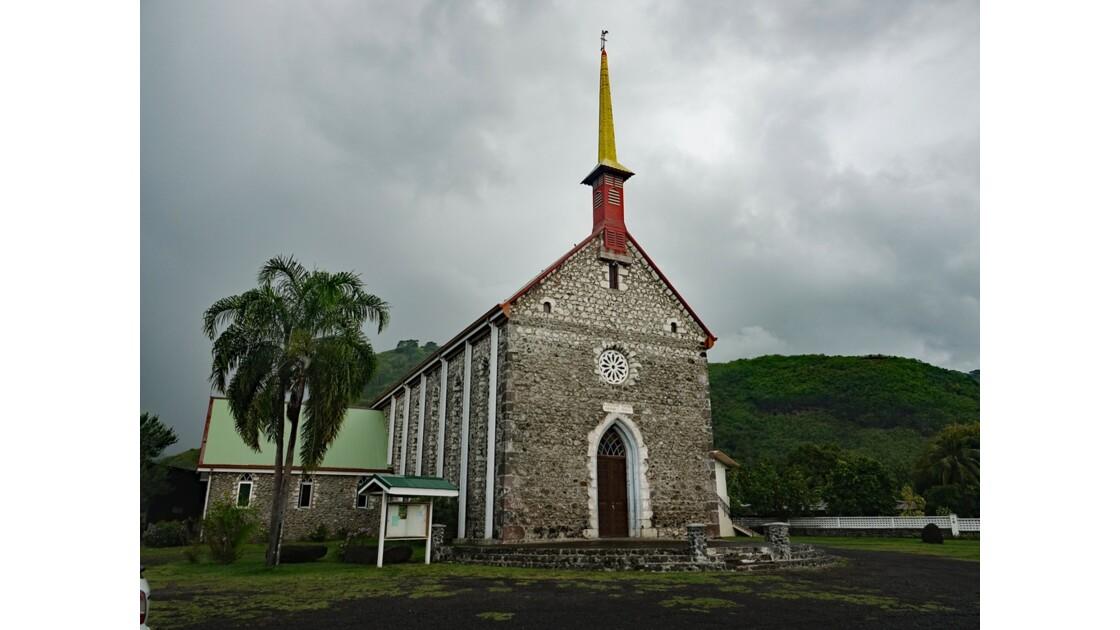 Tahiti Nui Eglise Saint-François-Xavier de Paea 1