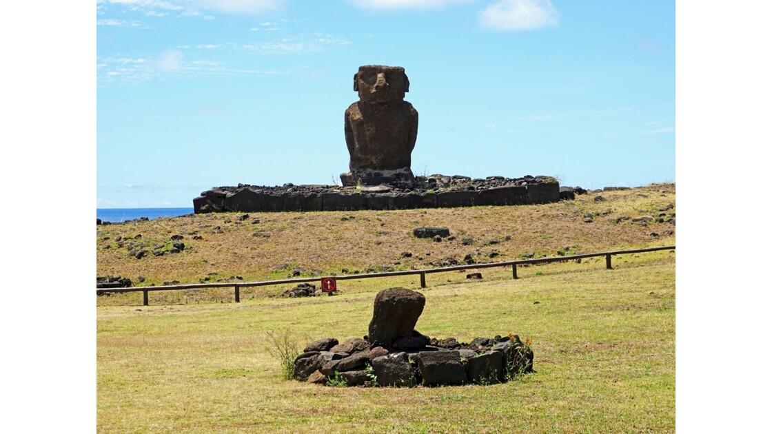 Île de Pâques Anakena Ahu Ature Huki 5