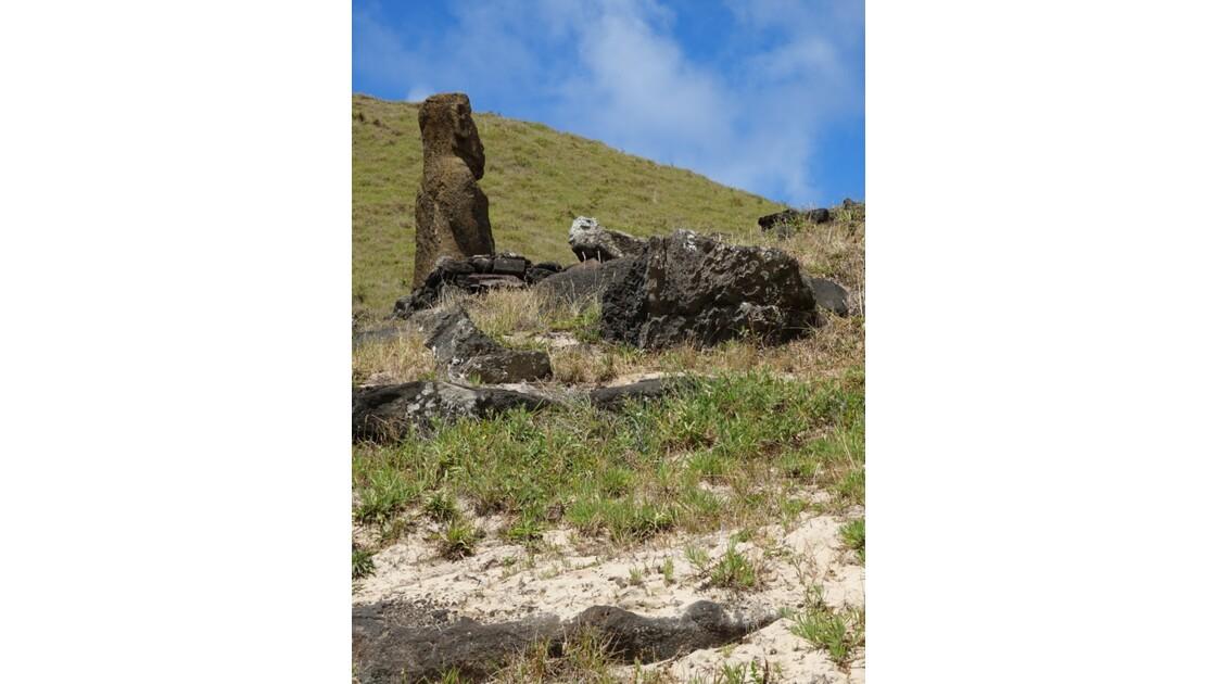 Île de Pâques Anakena Ahu Ature Huki 6