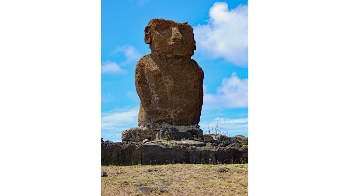 Île de Pâques Anakena Ahu Ature Huki 7
