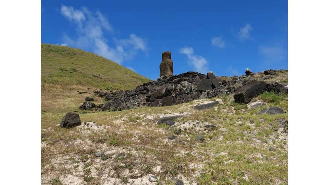 Île de Pâques Anakena Ahu Ature Huki 3