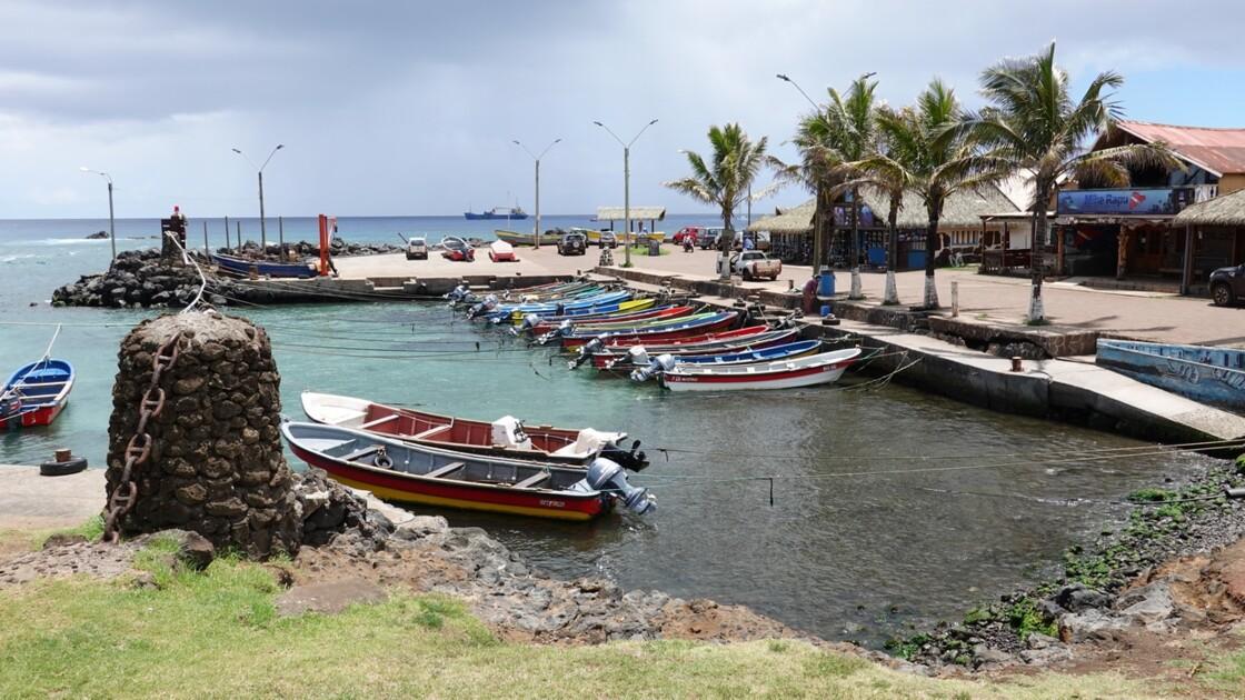 Île de Pâques Hanga Roa Crique de Hanga Roa Otai 2