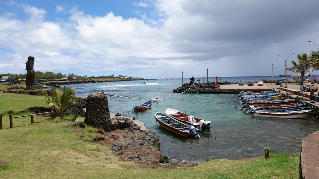 Île de Pâques Hanga Roa Crique de Hanga Roa Otai 3