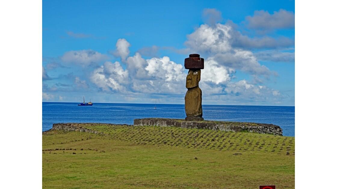 Île de Pâques Tahai Ahu Ko Te Riku 1