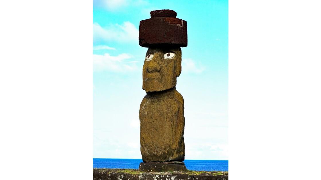 Île de Pâques Tahai Ahu Ko Te Riku 2