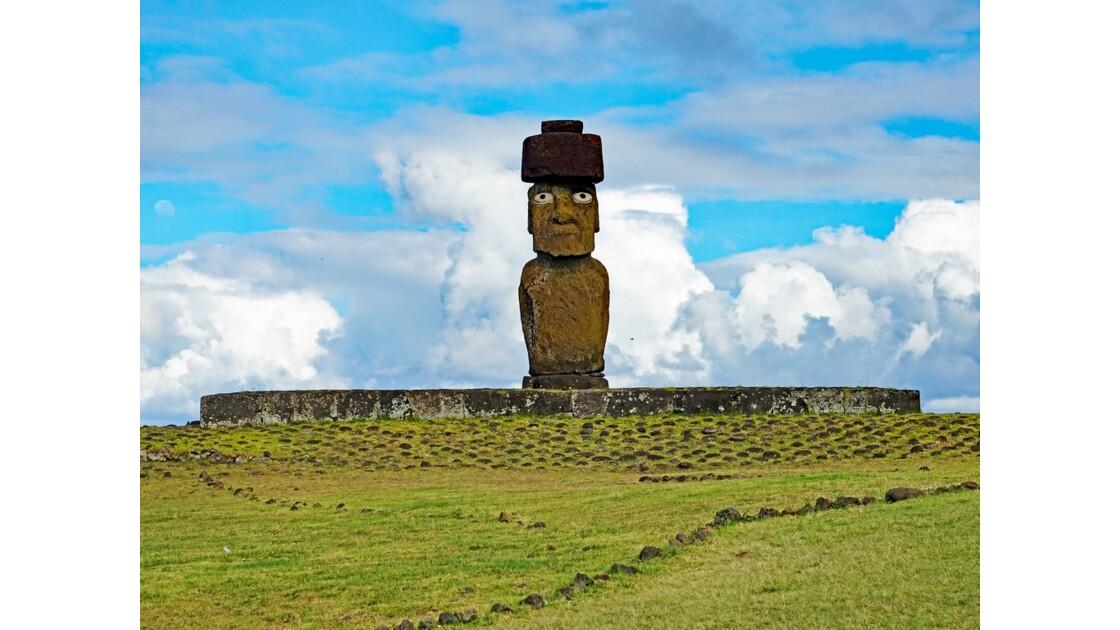 Île de Pâques Tahai Ahu Ko Te Riku 3