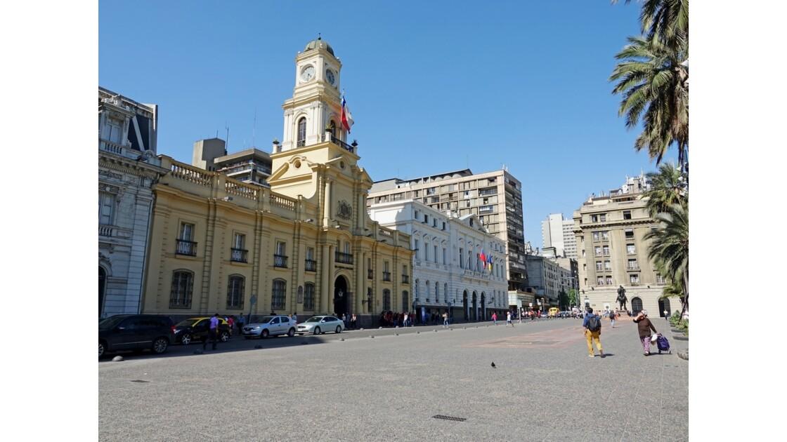 Chili Santiago Plaza de Armas