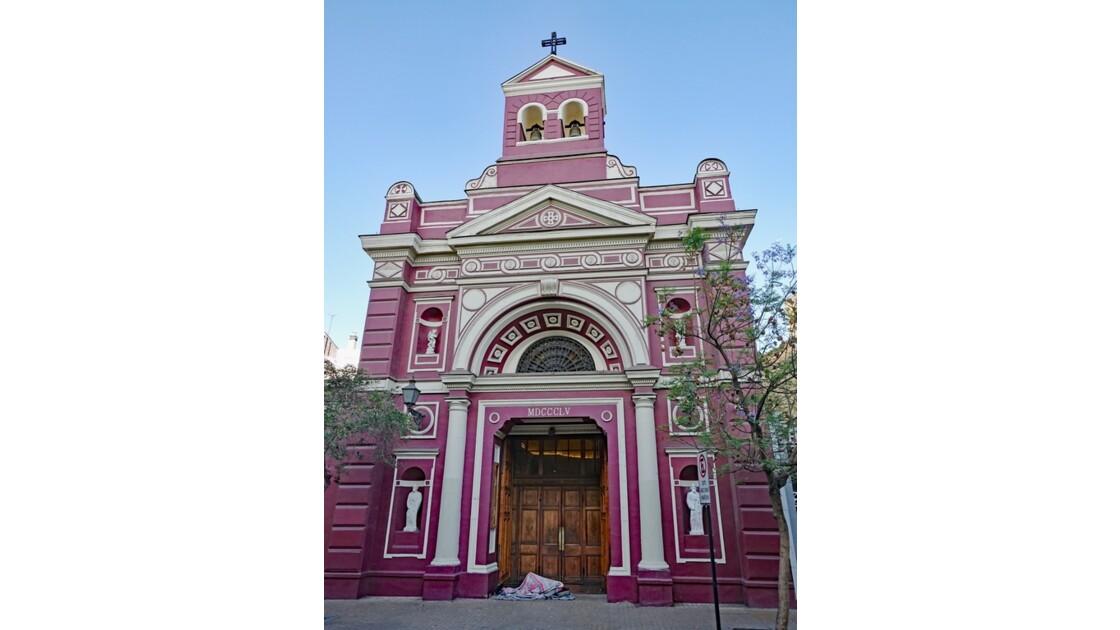 Chili Santiago Quartier de Lastarria Parroquia de la Vera Cruz 1