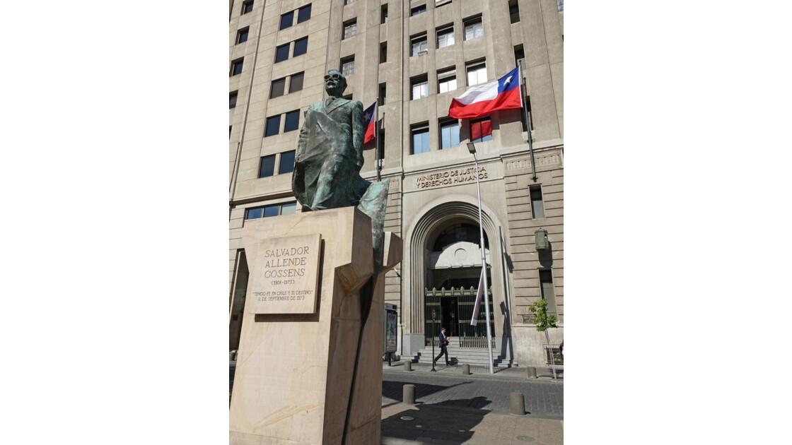 Chili Santiago Autour la plaza de la Constitution 1