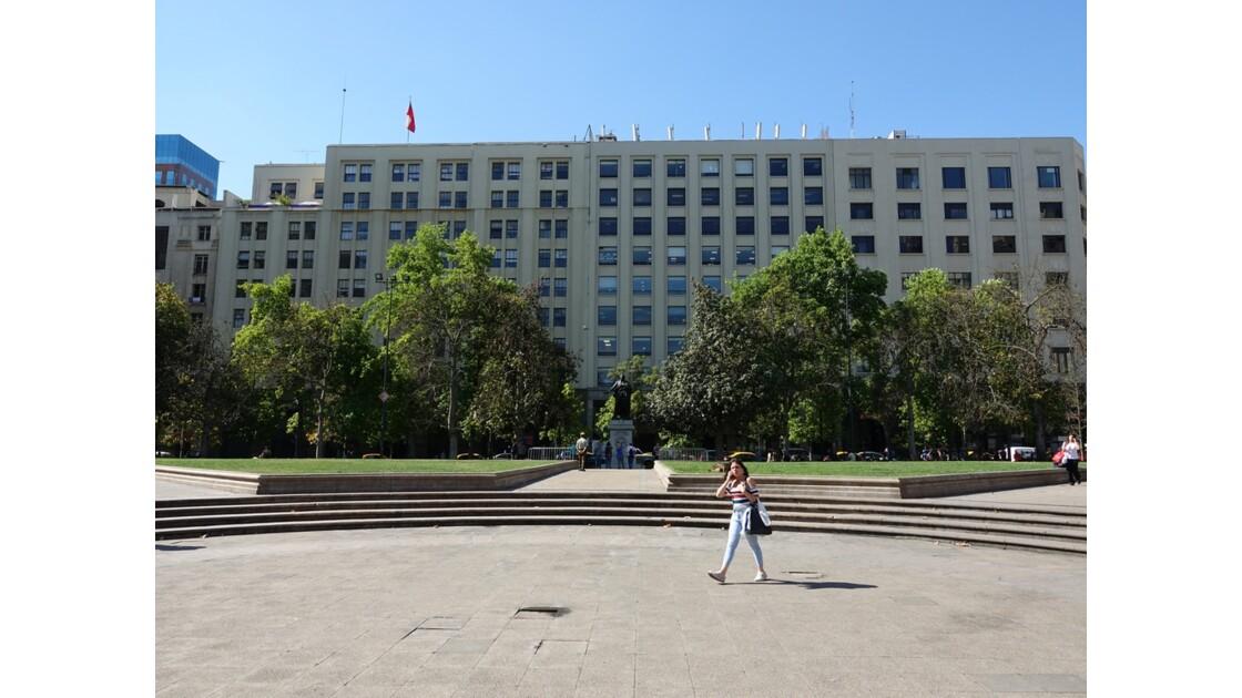 Chili Santiago Autour la plaza de la Constitution 3