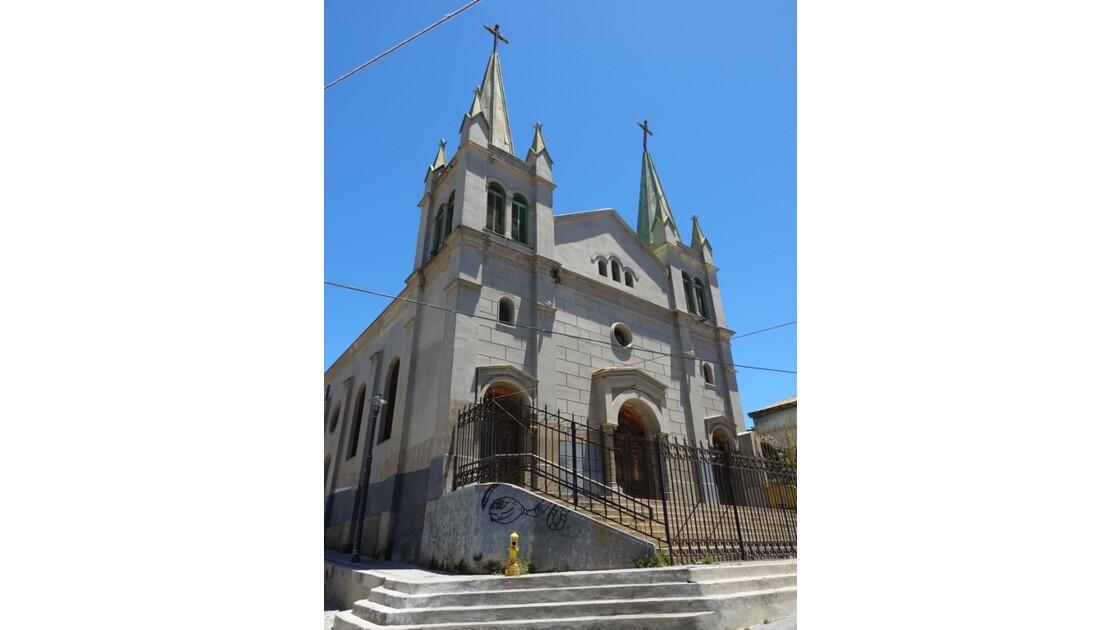 Chili Valaparaiso Iglesia san Luis de Gonzaga