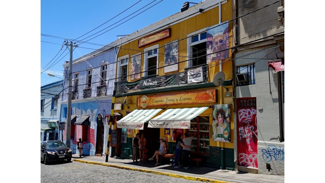 Chili Valparaiso Cerro Allègre 6