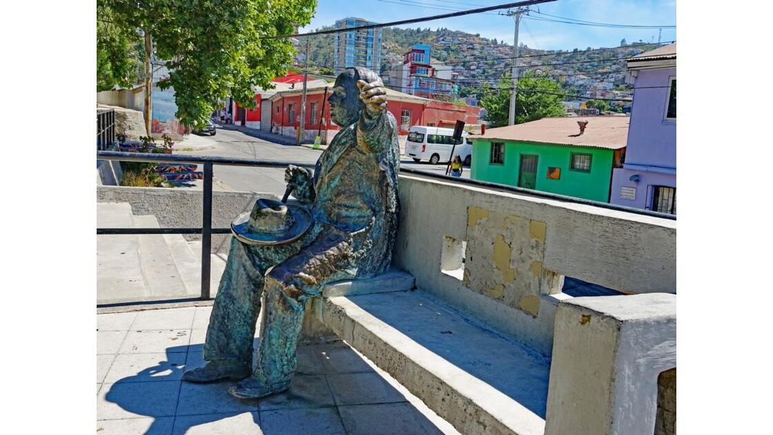 Chili Valparaiso Plaza de los Poetas 2