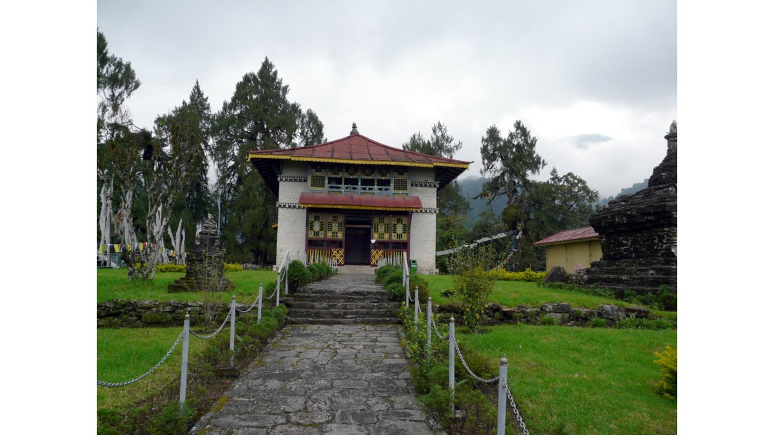 Le petit temple de Tsokha