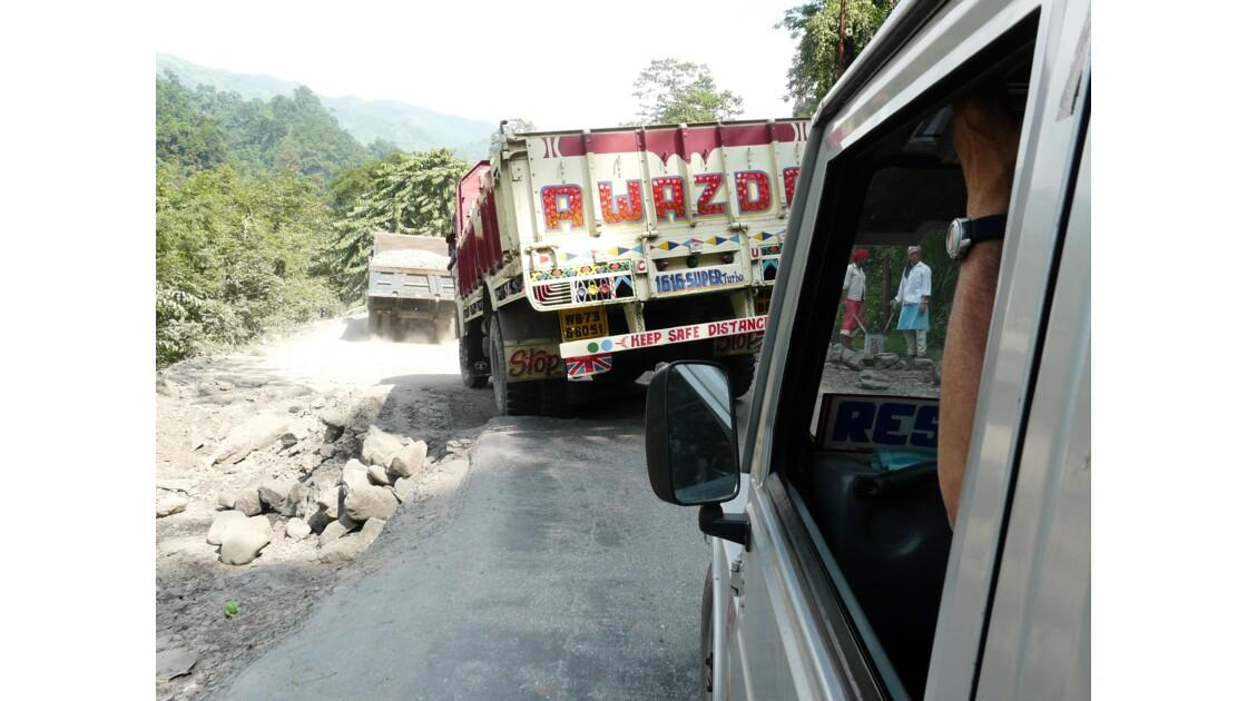 Sur la route de Siliguri