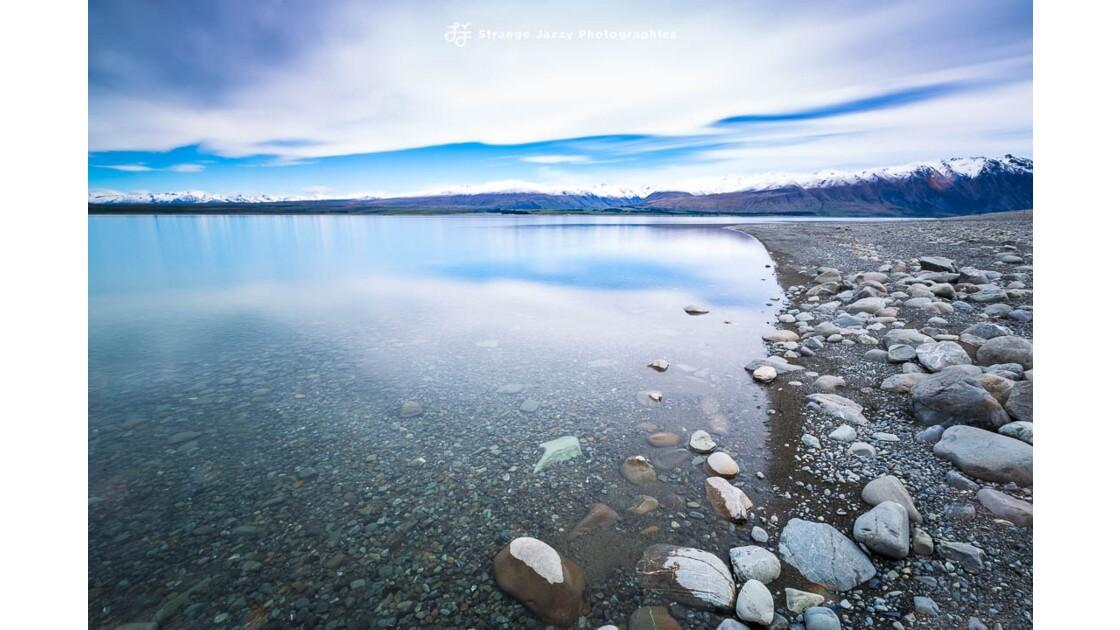 Au bord du lac Tepako