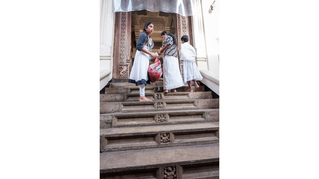 Le Temple de la Dent à Kandy
