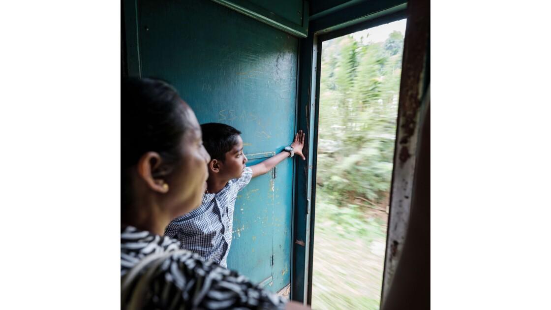Trajet en train de Kandy à Gampola
