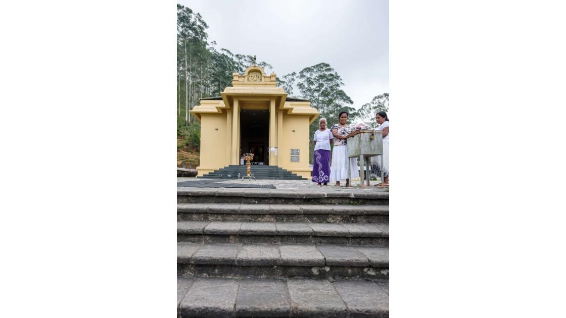 Le temple de Anjaneyar