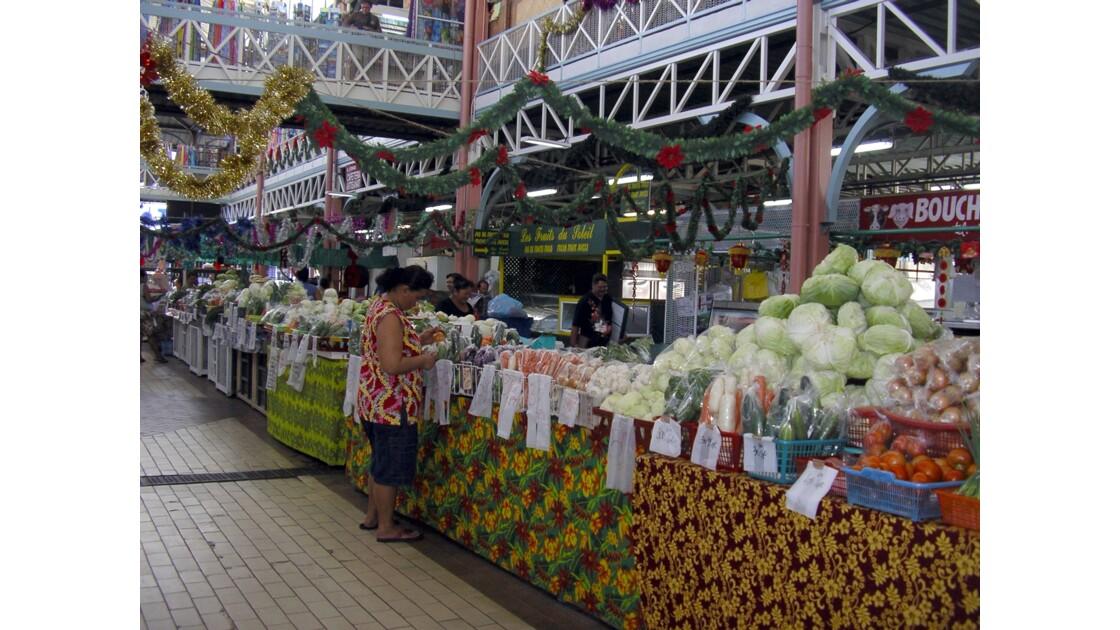 Marché aux fleurs de Papeete