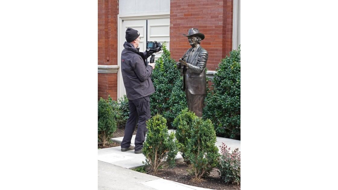 Nashville  Bill Monroe et le photographe 1
