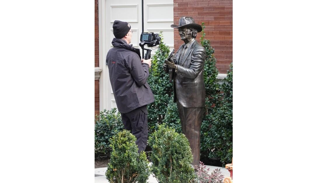 Nashville  Bill Monroe et le photographe 2