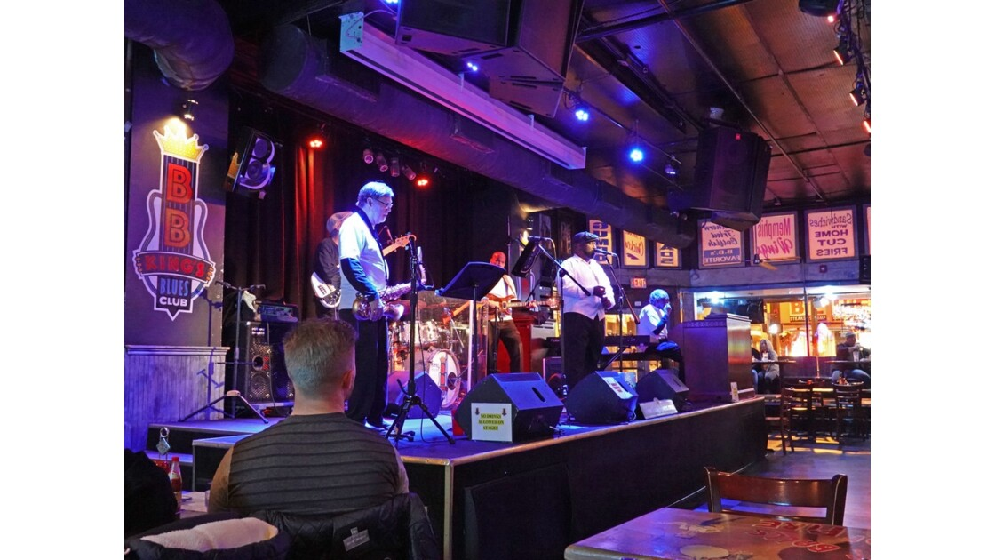 Memphis BB King's Blues Club 1