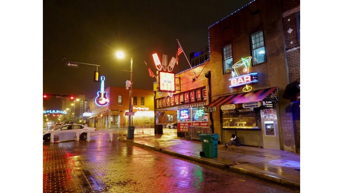 Memphis Soir de pluie sur Beale Street 4
