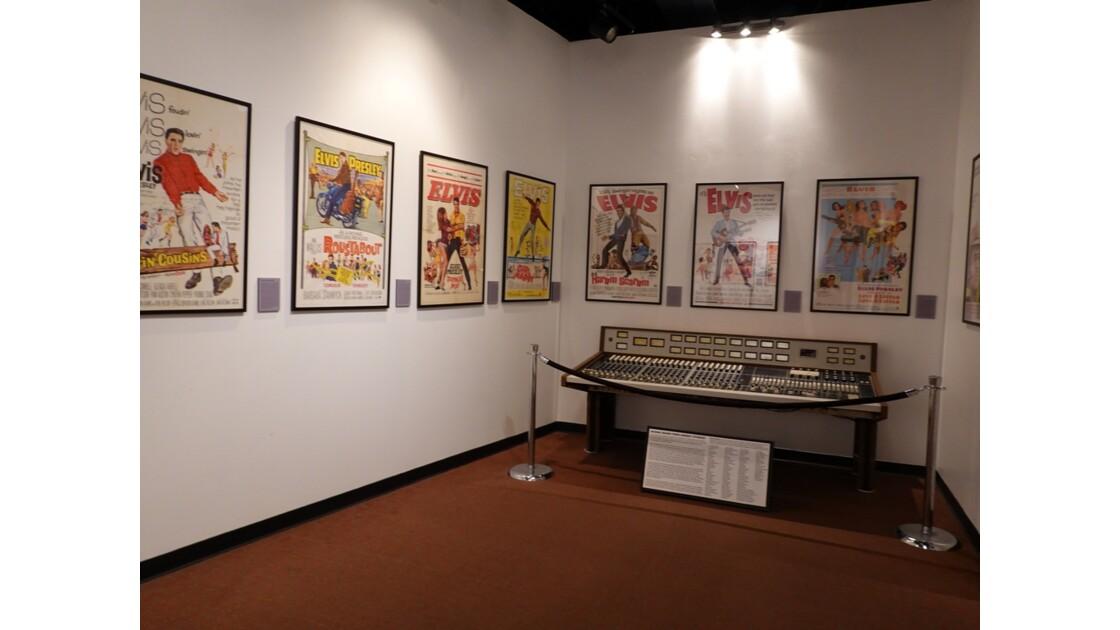 Memphis Rock'n' Soul Museum Films d'Elvis