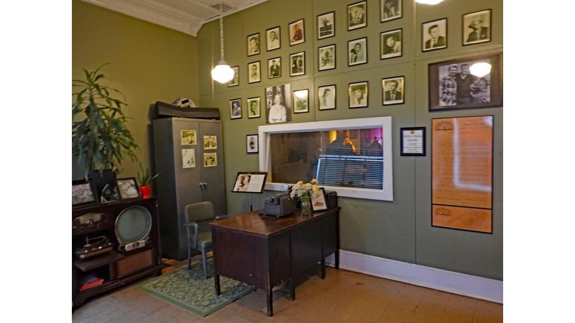 Memphis Sun Studio bureau de Marion Keiske, secrétaire de  Sam Phillips 2