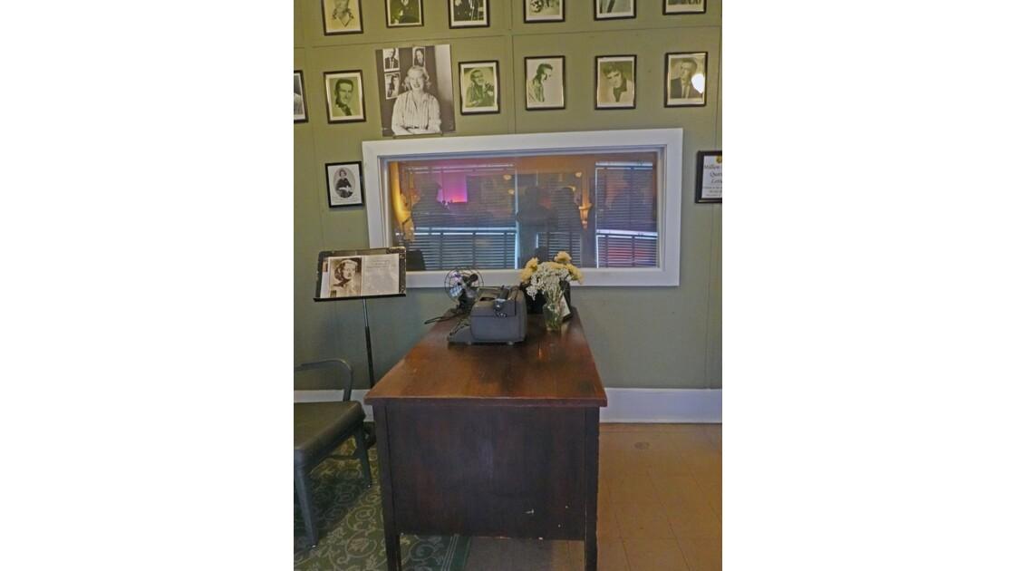 Memphis Sun Studio bureau de Marion Keiske, secrétaire de  Sam Phillips 1