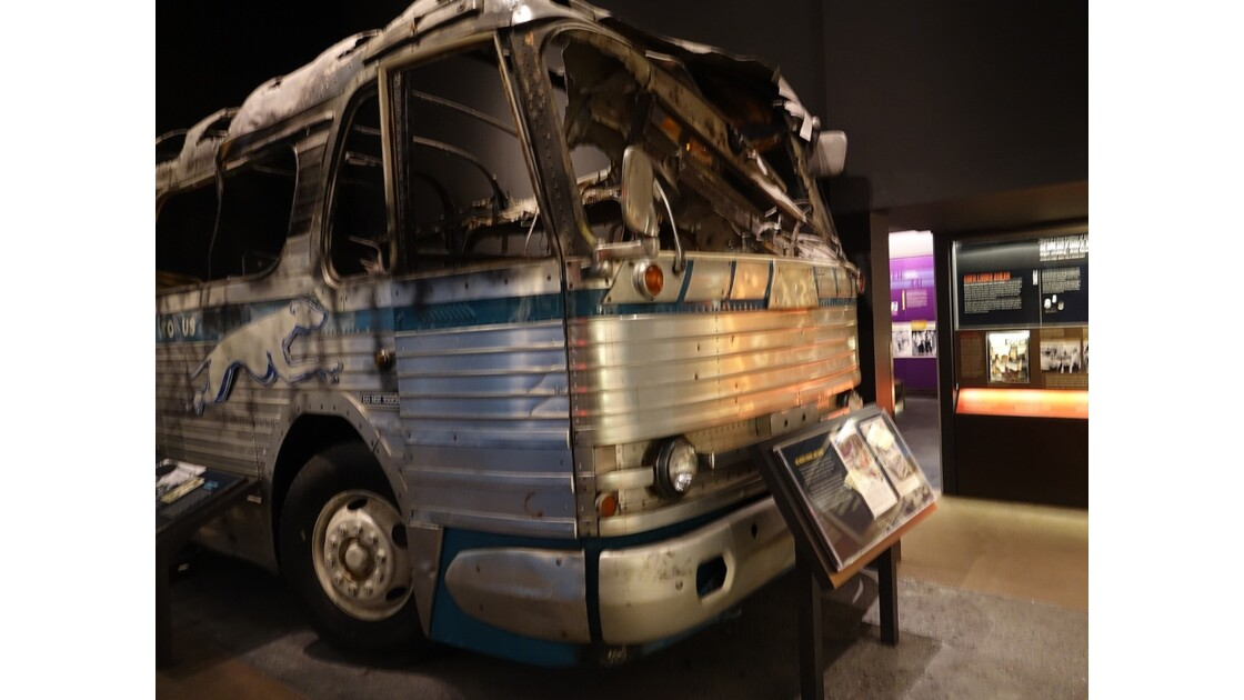 Memphis National Civic Rights Museum The Greyhound Bus1