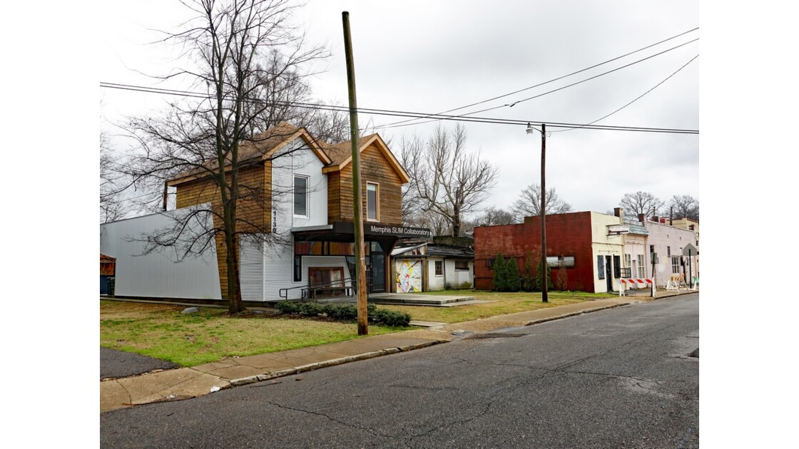 Memphis Villa de Memphis Slim rénovée 12